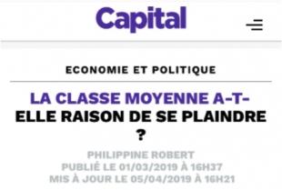 La classe moyenne a-t-elle raison de se plaindre ? (Citation)