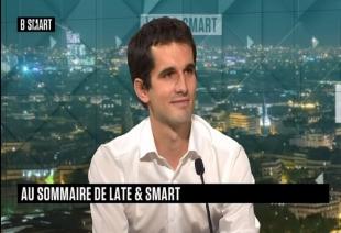 Adrien Tenne invité chez B-Smart pour discuter de l