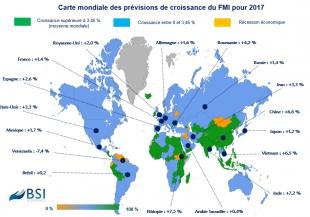 BSI MAP : prévisions de croissance 2017