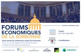 Les Forums Economiques de la Sorbonne (Communiqué de presse)