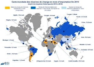 BSI Map : Réserves de change