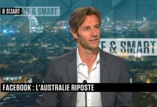 B-Smart - J.Mathis sur le conflit Facebook vs Australie, le rôle des entreprises dans la vaccination et la taxation de l