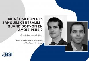 """Wébinaire """"Monétisation des Banques Centrales"""" (Évènement)"""
