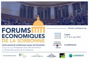 Forums Économiques de la Sorbonne : retrouvez les conférences en direct