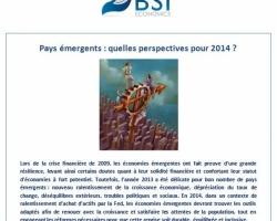 Pays Emergents: quelles perspectives pour 2014?